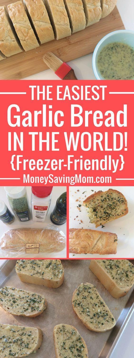 Simple Freezer-Friendly Garlic Bread | Money Saving Mom®