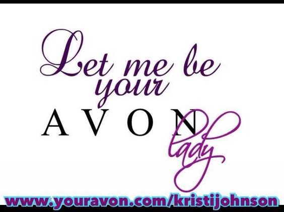 Let me be your avon lady .... Pleaseeee