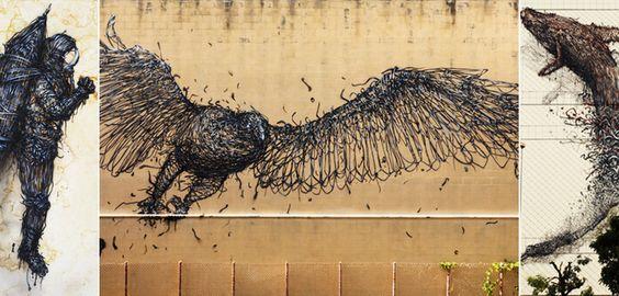 Αστική και σύγχρονη τέχνη μέσα από τα έργα του καλλιτέχνη DAL – Street Art