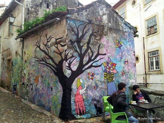 Street art, Baixa, Coimbra✿•♥•✿