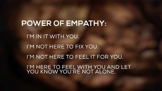 Dr. Brené Brown #empathy: