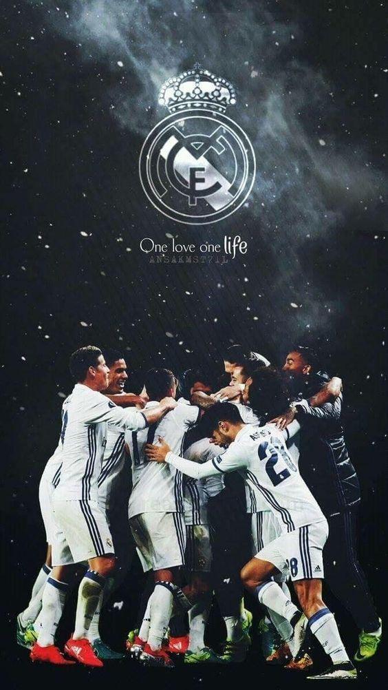 Real Madrid Wallpaper Equipo 2018 Di 2020 Sepak Bola Olahraga Desain