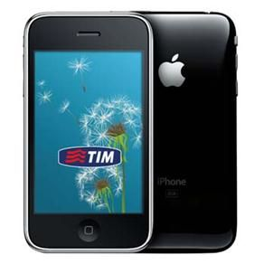 iPhone Apple 3GS Preto Desbloqueado TIM c/ 8GB, Câmera 3MP, Touch Screen, GPS, MP3, Bluetooth e Wi-Fi