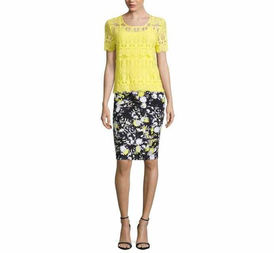 Decree® Lace T-Shirt or Bodycon Skirt