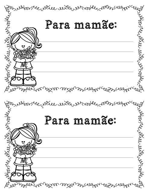 Dia Das Maes Atividades Pedagogica Suzano Com Imagens