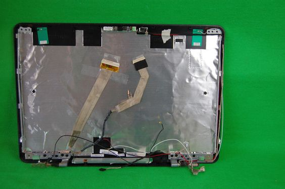 Display Gehäuse Deckel Case Toshiba Satelite A350-200 WLAN Webcam Displaykabel