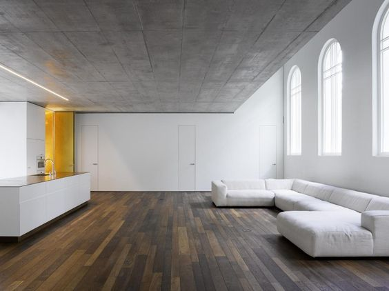 Conversion of St. Lukes Chapel in Bern by Morscher Architects