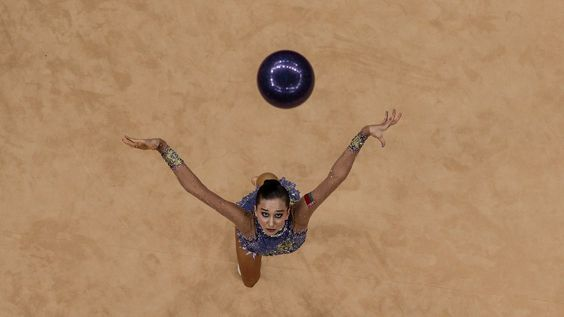 Libou Charkashyna (BEL) está provisionalmente en 3er lugar tras el primer día de eliminatorias - is provisionally in 3rd place after the 1st qualifiers day #RhythmicGymnastics