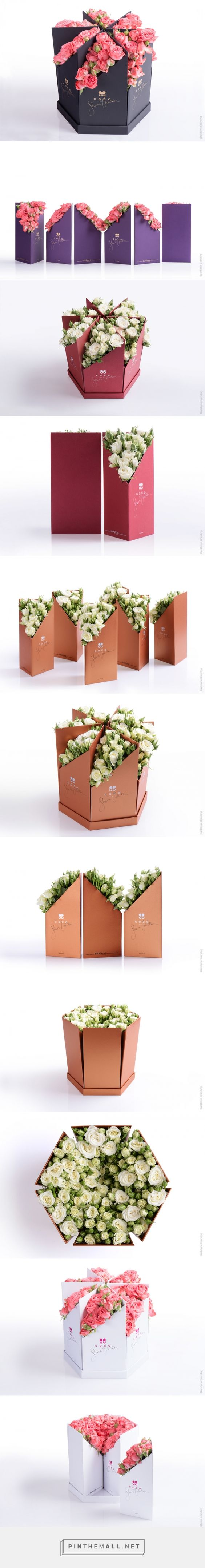 Coco Fiori by Backbone Branding. Source: World Packaging Design. Pin curated by #SFields99 #packaging #design