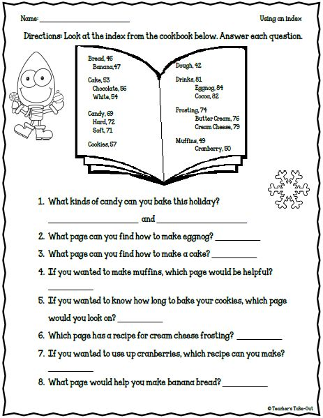 freebie 5 holiday worksheets for 2nd 3rd grade classrooms pinterest. Black Bedroom Furniture Sets. Home Design Ideas