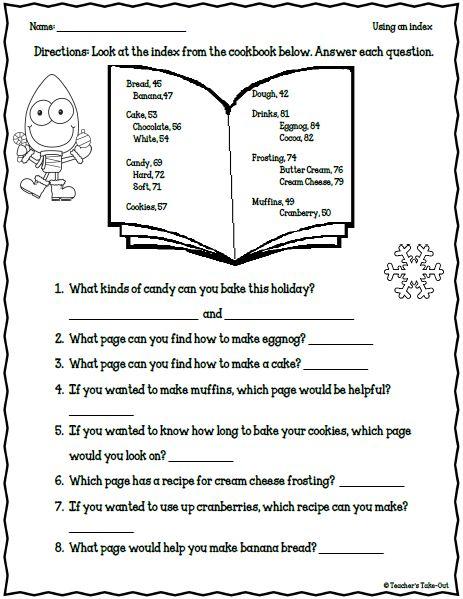freebie 5 holiday worksheets for 2nd 3rd grade classrooms pinterest. Black Bedroom Furniture Sets. Home Design Ideas