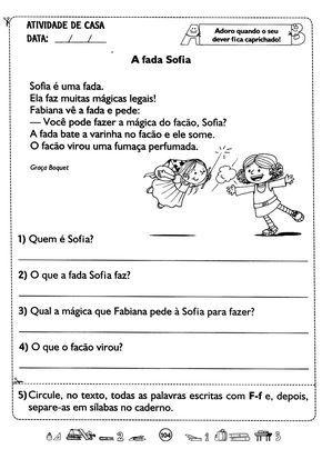 Pin Em Portugues 1 Ano