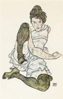 """Hand Sketches"" By Egon Schiele ,1920"