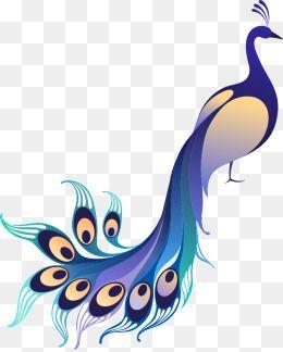 Cartoon Animals Animal Illustration Animal Vector Animals Gradient Blue Peacock Peacock Gradient Vector Blue Vector Pe Animal Illustration Peacock Art Clip Art