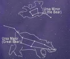 Ursa Minor Little Bear Myth stjernebilder for barn...
