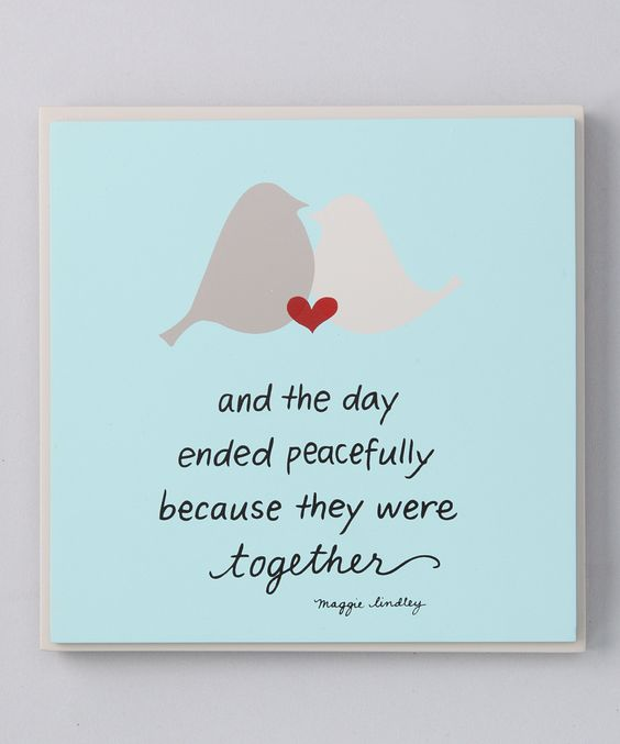 'Together' Plaque | Daily deals for moms, babies and kids
