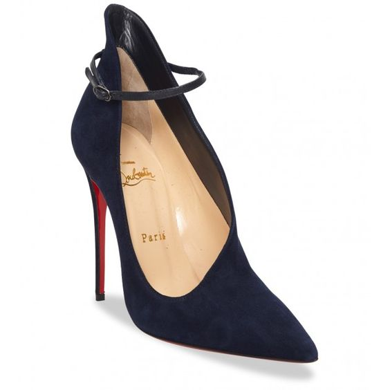 buy christian louboutin replica - Christian Louboutin - Vampydoly Black Suede Heels | Garments ...