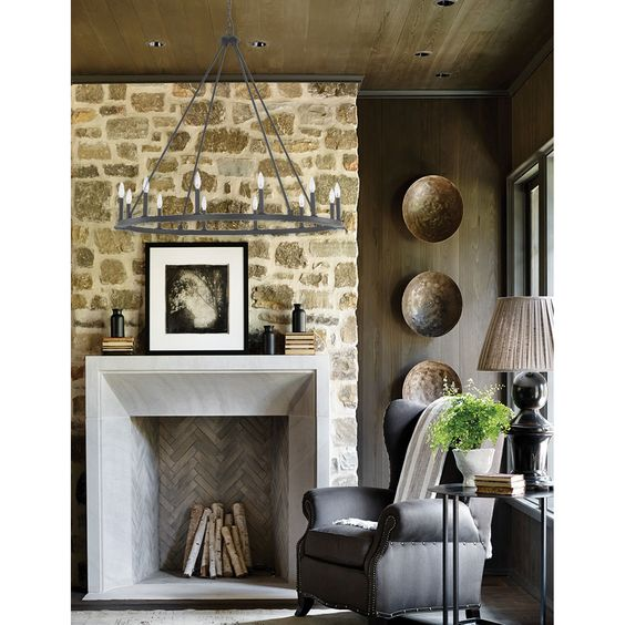 Top Fireplaces Home Decor
