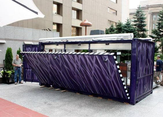 Muvbox march toronto arch container pinterest toronto - Shipping container homes toronto ...