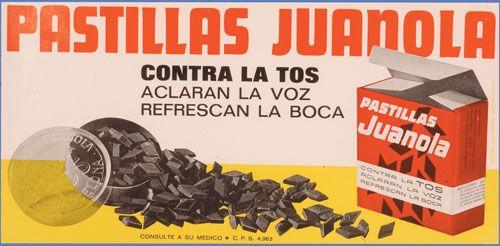 Pastillas Juanola - Publicidad
