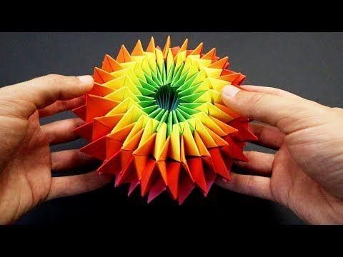 折り紙 の 万華鏡 の 作り方