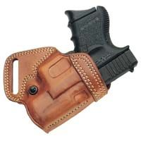 Galco's SOB (Small of Back) Holster - for extended comfort, especially for gun carriers who spend the day on their feet, the S.O.B.™ (Small Of Back) holster is a superior choice. $107.