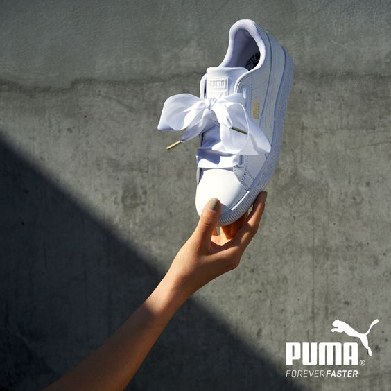 Puma Basket Gros Noeud