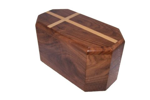 Our latest addition to our product line, walnut companion urn.