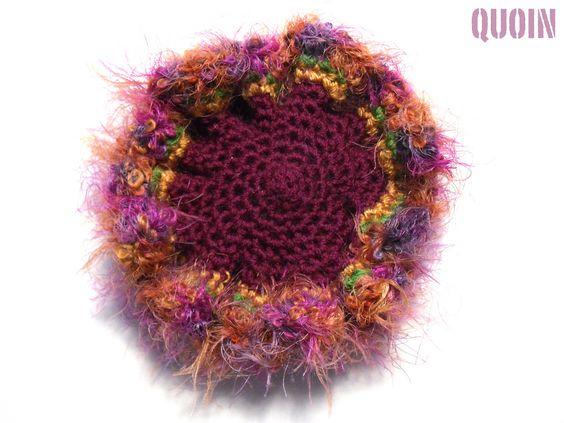 Small Crimson Hyperbolic Crochet - open | Flickr - Photo Sharing!