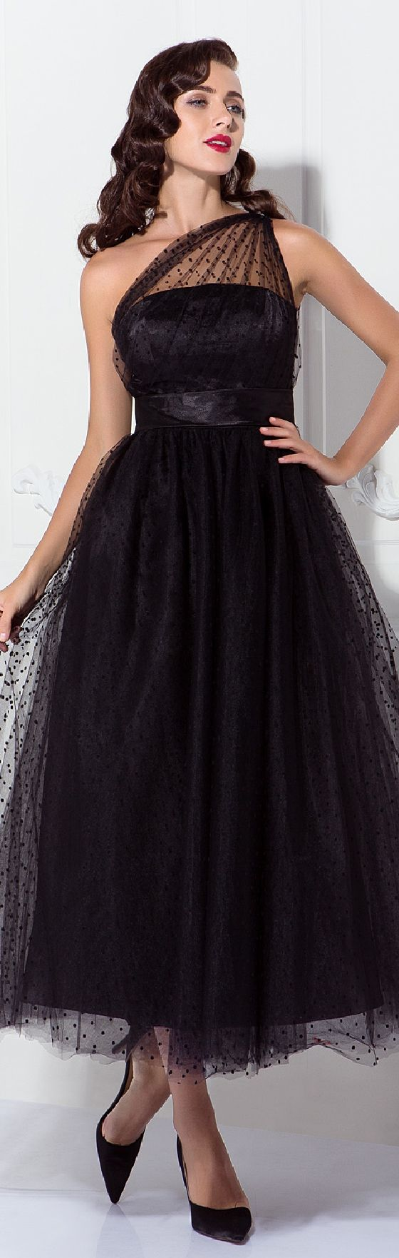 99 99 A Line Vintage Cocktail Party Prom Dress One Shoulder Sleeveless Ankle Length Tulle With Pleats Pattern Print 2021 Wedding Party Dresses Sweetheart Prom Dress Pretty Dresses [ 1762 x 560 Pixel ]