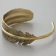 Image result for feather cuff