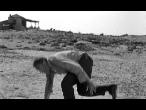 Continuing the dancing theme. Final scene from Zorba the Greek (1964).