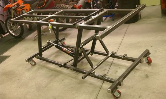 how to build a motorcycle lift