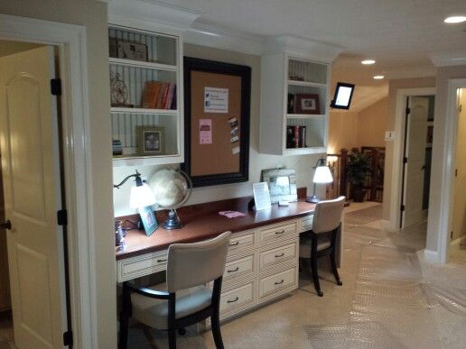Great use of hallway space