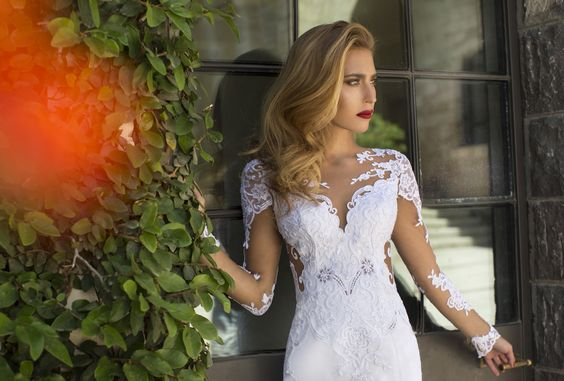 'Morning glory collection' of Nurit Hen. A leading designer of wedding dresses and evening dresses. Special designs suitable for every woman.