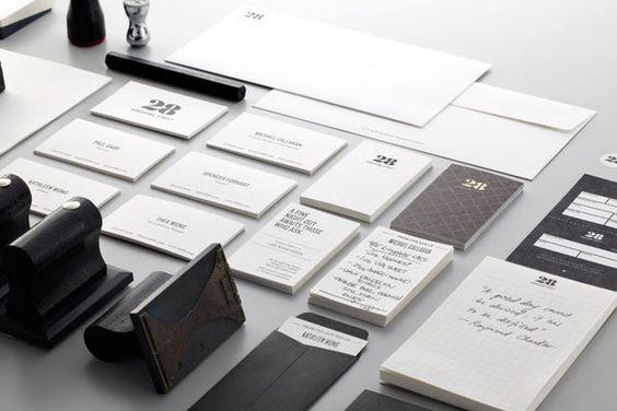 black & white media kit