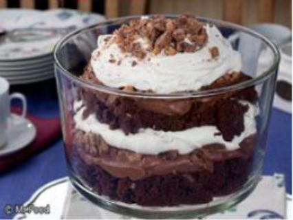 Death by Chocolate, it's sort of like a brownie trifle. Sounds delish!