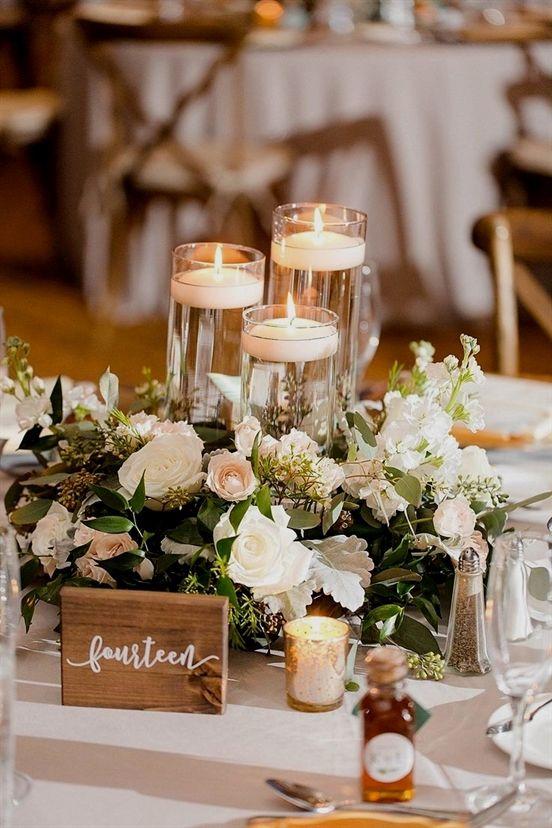 Wedding Gifts For Couple Walmart Wedding Registry Weddings Vows Wedding D In 2020 Candle Wedding Centerpieces Wedding Decor Elegant Flower Centerpieces Wedding