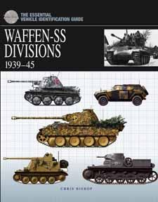 Illustrated with detailed artworks of vehicles and their markings, The Essential Vehicle Identification Guide: Waffen-SS Divisions by Chris Bishop, Amber Books, is the definitive study of the equipment and organization of Germany's elite Waffen-SS divisions during World War II. Organized chronologically and including more than 200 artworks, this is a key reference guide for modellers and military history enthusiasts alike.