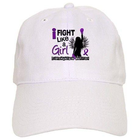 Fight Like A Girl Fibromyalgia Cap