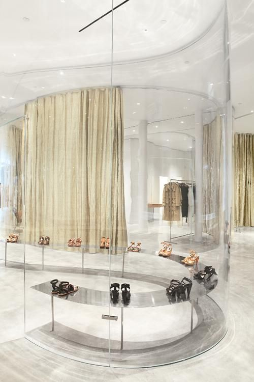 Fashion Boutique In New York Magasin Chaussure Design Architecture