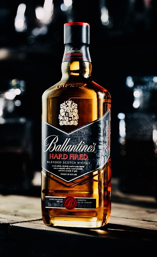 Ballantine S Hard Fired With Images Ballantines Whisky