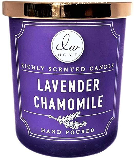 Lavender Chamomile 3 Wick Scented Soy Candle