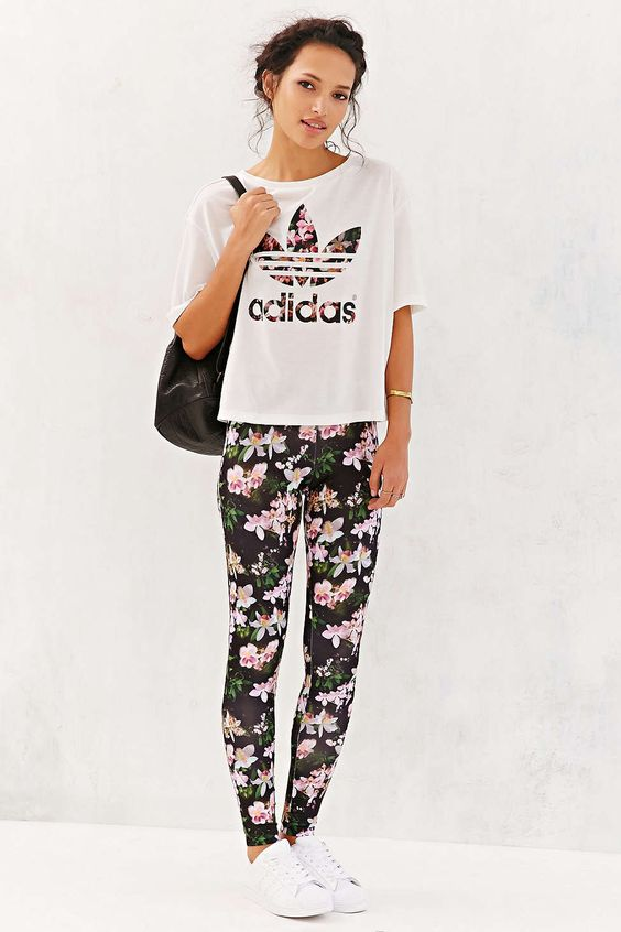 adidas Orchid Legging - Urban Outfitters
