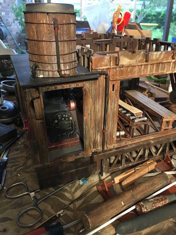 tubing on sawmill