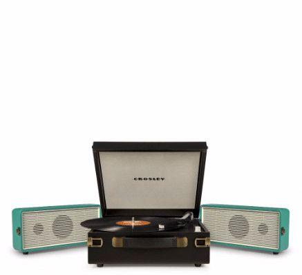 Snap Portable Turntable - Turquoise + [ Bonus Spotlight LP Included ] #shopifypicks