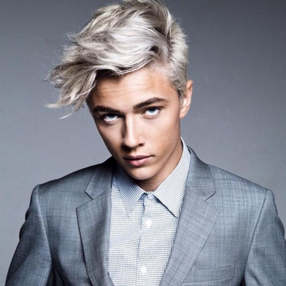How To: Lucky Blue Smith and Zayn Malik Gray Hair Dye: