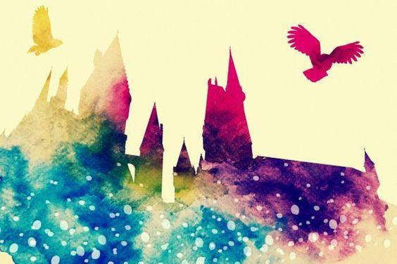 A Magical Castle Hogwarts Zauberhaft Harry Potter Bucher