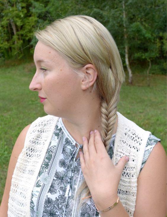 www.hannifuchs.de Herbst Sommer Outfit Mode Fashion Fashionblog Fashionblogger Mode Modeblog Modeblogger Blond Blonde Haare Fischgrätenzopf