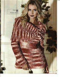 Mania de Tricotar: Blusas de tricô   https://mania-de-tricotar.blogspot.com.br/search/label/Blusas%20de%20tric%C3%B4